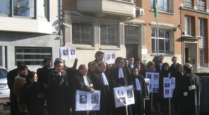 Journée de l'avocat en danger 2014