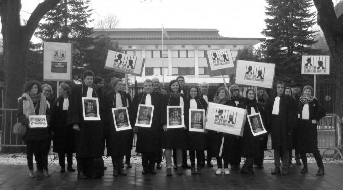 24 janvier 2017 - Journée de l'avocat en danger - Chine